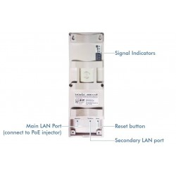 EnGenius Engenius ENH-200 Wireless Access Point แบบภายนอกอาคาร ความถี่ 2.4GHz 150 Mbps ระยะทางถึง 5 Km กำลังส่ง 500 mW