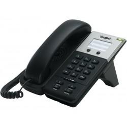 Yealink SIP-T18 อุปกรณ์โทรศัพท์แบบ IP (IP-Phone) ราคาประหยัด รองรับ 1 คู่สาย 1 Port Ethernet 10/100 Mbps