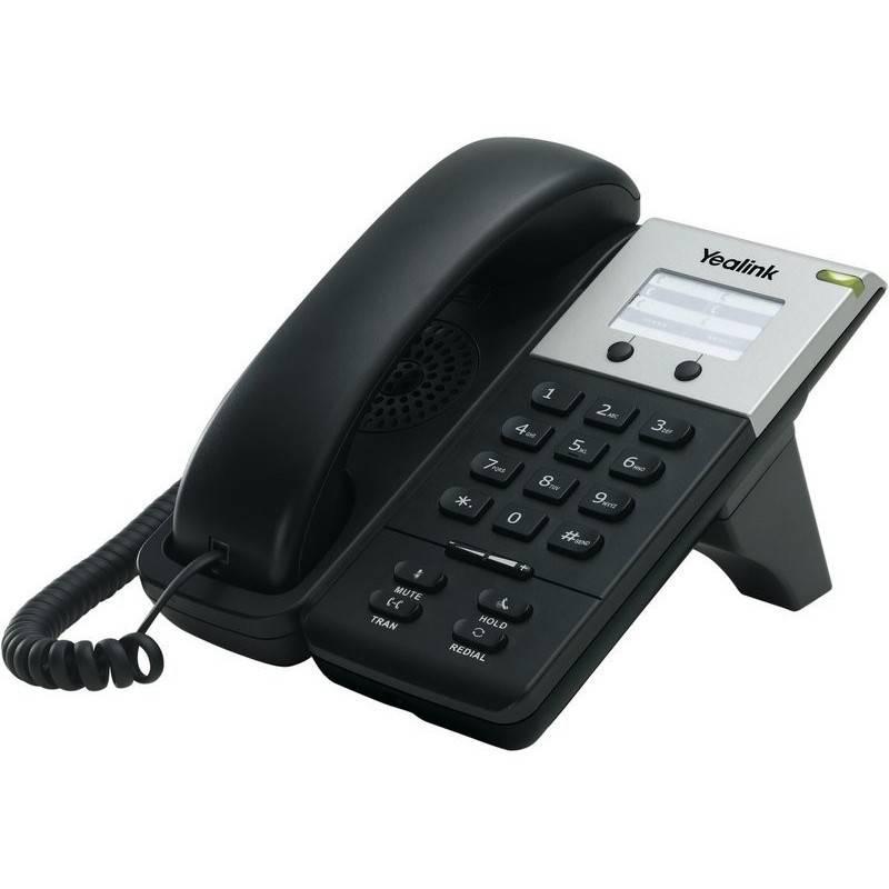 Yealink Yealink SIP-T18 อุปกรณ์โทรศัพท์แบบ IP (IP-Phone) ราคาประหยัด รองรับ 1 คู่สาย 1 Port Ethernet 10/100 Mbps