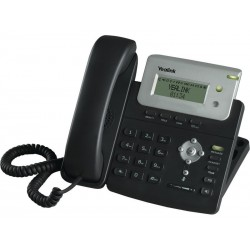 Yealink Yealink SIP-T20(P) อุปกรณ์โทรศัพท์แบบ IP (IP-Phone) รองรับ 2 คู่สาย, 2 SIP Account พร้อม 2 Port 10/100 Mbps รองรับ POE