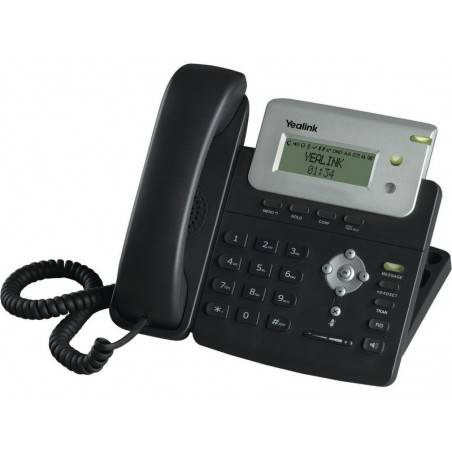 Yealink SIP-T20(P) อุปกรณ์โทรศัพท์แบบ IP (IP-Phone) รองรับ 2 คู่สาย, 2 SIP Account พร้อม 2 Port 10/100 Mbps รองรับ POE