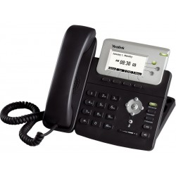 Yealink VOIP / IP-PBX (ระบบโทรศัพท์แบบ IP) Yealink SIP-T22P โทรศัพท์แบบ IP (IP-Phone) มีจอ LCD รองรับ 3 SIP Account พร้อม 2 P...