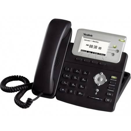 Yealink SIP-T22P โทรศัพท์แบบ IP (IP-Phone) มีจอ LCD รองรับ 3 SIP Account พร้อม 2 Port 10/100 Mbps รองรับ POE