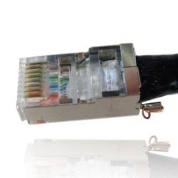 Ubiquiti Ubiquiti TOUGHCable Connectors RJ45 Modular Plug (ตัวผู้) สำหรับสาย STP (Shield)