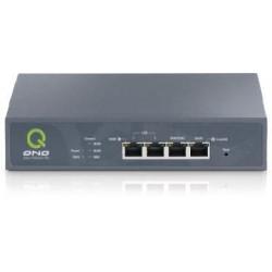 QNO FQR7103 LoadBalance Firewall Router ขนาด 3 Port Wan และ 1 Port Switch รองรับได้ถึง 5,000 Sessions