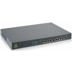 QNO FQR7201 LoadBalance Firewall Router ขนาด 5 Port Wan, 5 Port Switch Gigabit 2Port USB รองรับได้ถึง 160,000 Sessions