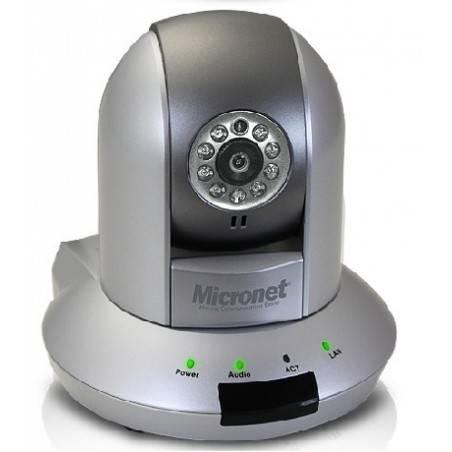 Micronet SP5532SP กล้อง IP Camera Pan/Tilt แบบใช้สาย ความละเอียด 1.3 Megapixel Sensor CMOS Day/Night รองรับ POE