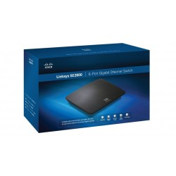 Cisco Cisco SE2800 Unmanaged Switch ขนาด 8 Port ความเร็ว Gigabit 10/100/1000 Mbps รองรับ QOS