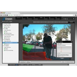 Ubiquiti Ubiquiti AirCam กล้อง IP Camera แบบใช้สาย ความละเอียด 1 Megapixel มาตรฐาน H.264 Sensor CMOS พร้อม POE ในชุด