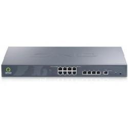 QNO FQR7204 LoadBalance Firewall Router ขนาด 8 Port Wan, 5 Port Lan Gigabit รองรับได้ถึง 300,000 Sessions