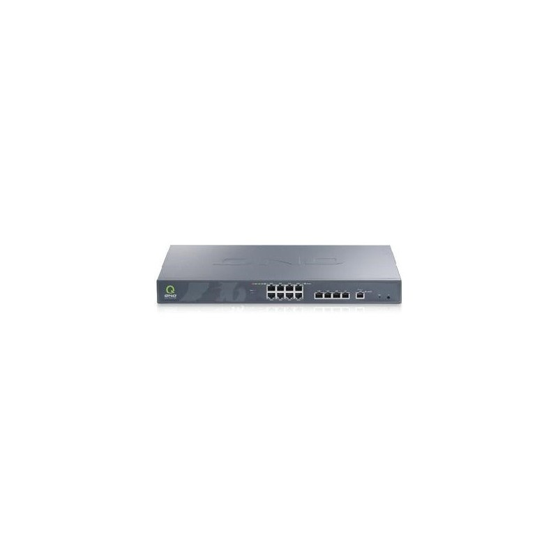 QNO FQR7204 LoadBalance Firewall Router ขนาด 8 Port Wan 5 Port Lan Gigabit รองรับ Nat 300,000 Sessions LoadBalance/ VPN Route...