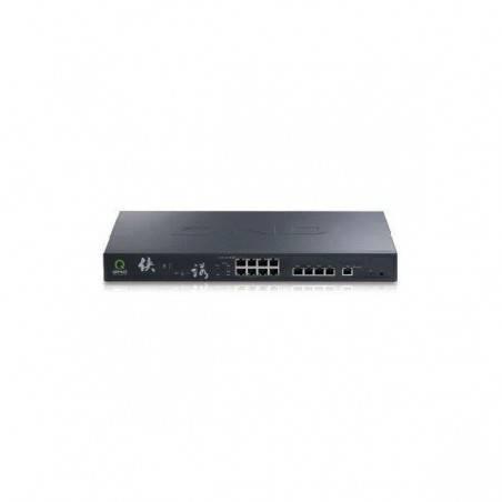 QNO FQR7203 LoadBalance Firewall Router ขนาด 5 Port Wan, 8 Port Lan Gigabit รองรับ Nat 300,000 Sessions