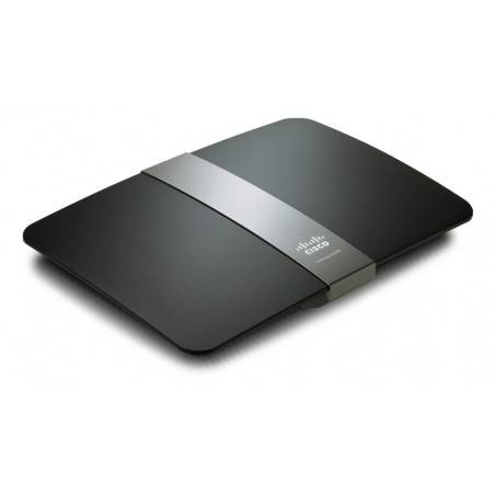 Linksys E4200 Broadband Router 300 Mbps Wireless-N 2.4/5 GHz รองรับ DD-WRT พร้อม HotSpot Function 10 Users