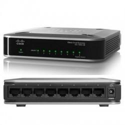 Cisco Cisco SG100D-08 Unmanaged Switch 8 Port Gigabit 10/100/1000Mbps