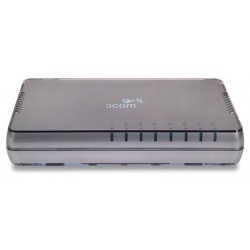 3COM® 3CFSU08A (HP V1405-8G) Gigabit Desktop Switch 8 Ports 10/100/1000Mbps Unmanaged Switches
