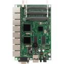 MikroTIK Mikrotik RouterBoard RB493G-Set ขนาด 9 Port Gigabit Ram 256MB, 3 miniPCI, 1 Serial Port, ROS LV5 พร้อม Case