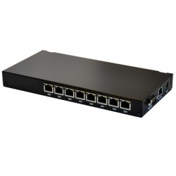 Mikrotik RouterBoard RB493AH-Set ขนาด 9 Port 10/100Mbps Ram 128MB, 3 miniPCI, 1 Serial Port, ROS LV5 พร้อม Case Mikrotik (ไมโ...