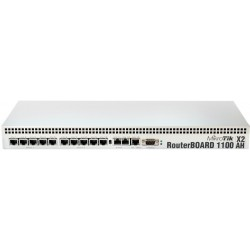 Mikrotik RB-1100AHx2 RouterBoard ระดับ Top ,CPU Dual Core 1066MHz 13 Port Giagbit, Ram 2GB, 1 Serial, LV 6,พร้อม Case อลูมิเนียม