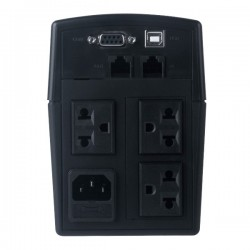 CyberPower เครื่องสำรองไฟ UPS CyberPower Value 600 ELCD-AS แบบมี LCD Display ขนาด 600VA 360Watt