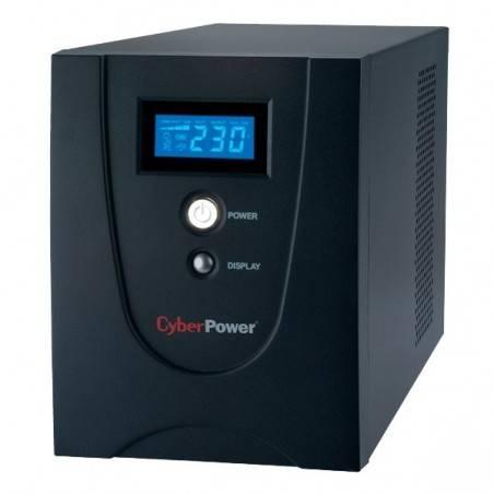 เครื่องสำรองไฟ UPS CyberPower Value 1200 ELCD-AS แบบมี LCD Display ขนาด 1200VA 720Watt