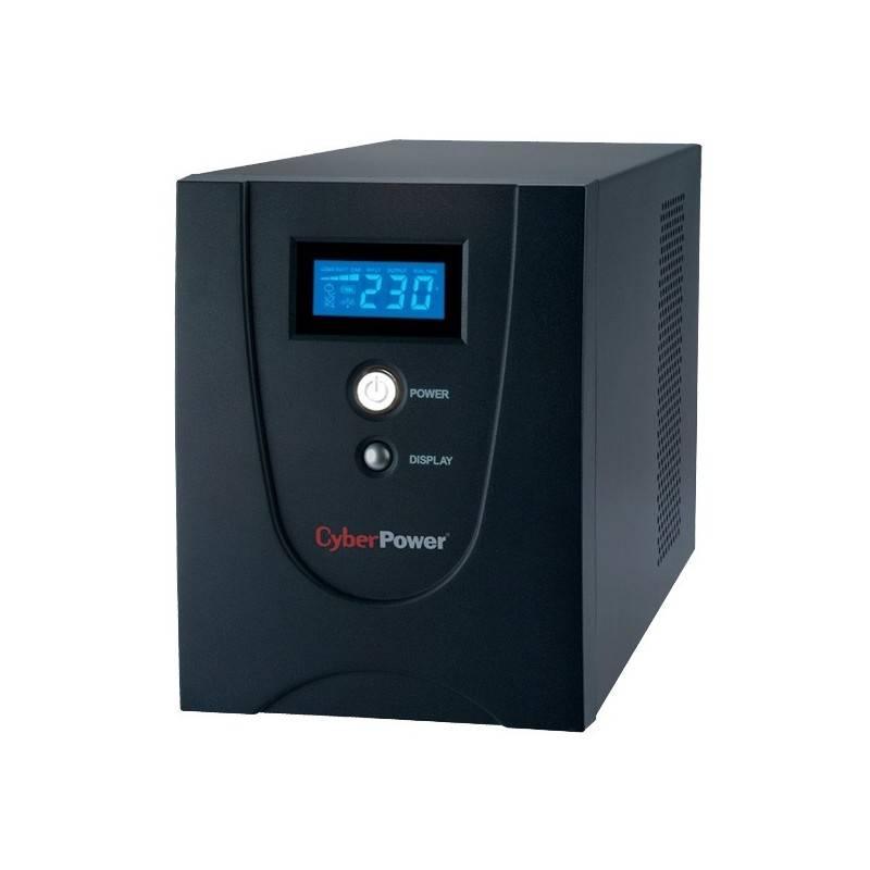 เครื่องสำรองไฟ UPS CyberPower Value 2200 ELCD-AS แบบมี LCD Display ขนาด 2200VA 1320Watt UPS เครื่องสำรองไฟ