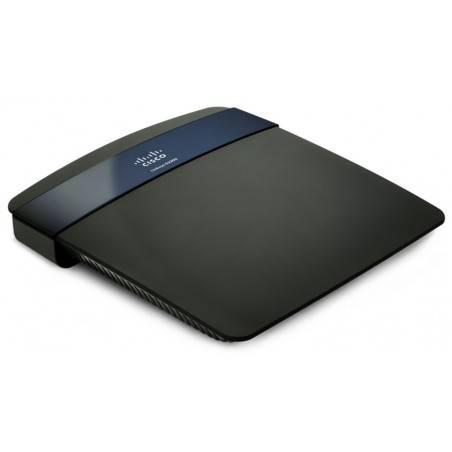 Linksys E3200 Wireless Router ใช้งานย่าน 2.4/5Ghz ได้พร้อมกัน Speed 300Mbps 4 Port Gigabit พร้อม Hotspot Authen รองรับ USB