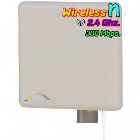 ArcFlex FreeStation2 All-in-One Outdoor Dual Radio อุปกรณ์รับและกระจายสัญญาณ Wireless ย่าน 2.4GHz ระยะสูงสุด 3Km