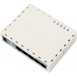 Mikrotik RouterBoard RB-951U-2n ROS Lv.4 Ram 32MB พร้อม WIreless มาตรฐาน N ย่าน 2.4GHz
