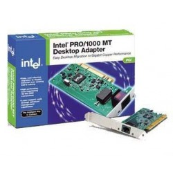 Intel PRO/ 1000 MT 1 Port Server Adapter/ Lan Card แบบ 1 Port ใน 1 Card แบบ PCI/PCI-Xความเร็ว 10/100/1000 Mbps Ethernet Adapt...