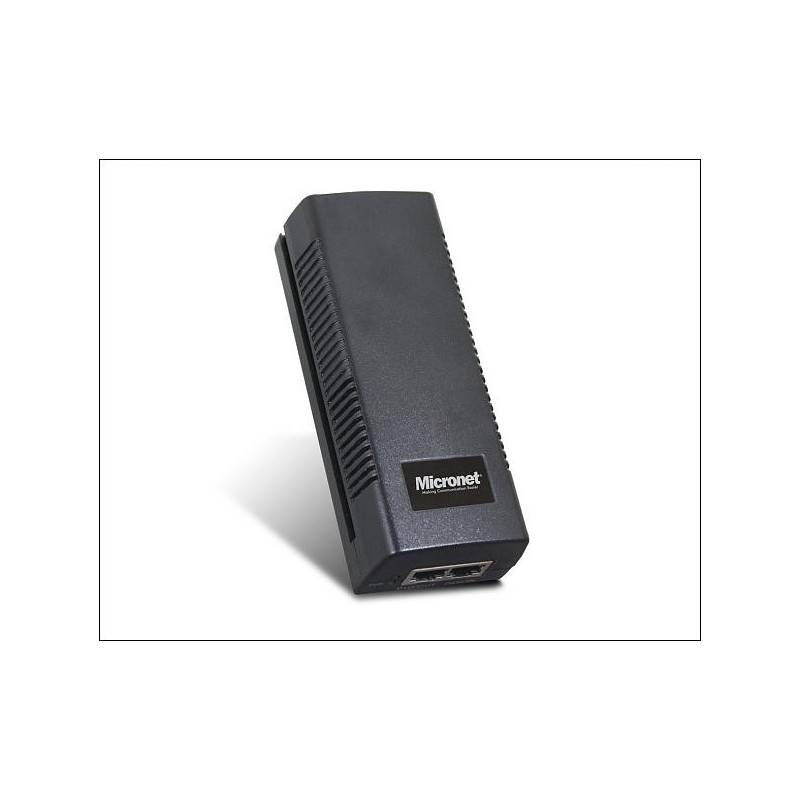 Micronet SP390I อุปกรณ์ฝากไฟไปกับสาย Lan Power Over Ethernet (POE) รองรับมาตรฐาน 802.3at/af ความเร็ว Gigabit