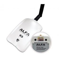 ALFA AWUS036NHR ตัวรับสัญญาณ Wireless ระยะไกล แบบ USB กำลังส่งแรงสุดถึง 2000mW ความเร็ว 150Mbps Wireless USB แบบกำลังส่งสูง