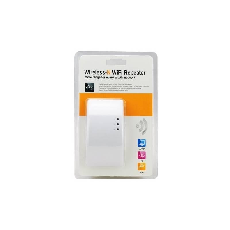 Wireless-N Wifi Booster Repeater ขยายสัญญาณ Wifi ความเร็วมาตรฐาน 802.11n สูงสุดถึง 300Mbps