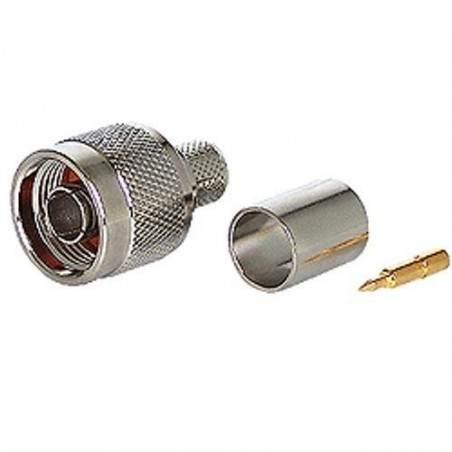 CON-NM : N-Type Male สำหรับ LMR200/RG316U/LLC200