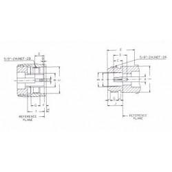 SysNet Center CON-RPTNC-M : RP-TNC Male Crimp สำหรับ LMR200/RG58U/LLC200