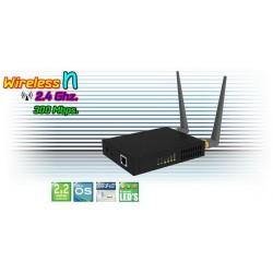 Wireless AccessPoint (กระจายสัญญาณ Wireless) Deliberant APC 2Mi อุปกรณ์ AccessPoint ความเร็ว 300Mbps ความถี่ 2.4GHz รองรับ WN...