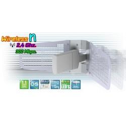 Deliberant APC 2S-14 อุปกรณ์ AccessPoint แบบภายนอกอาคาร กำลังส่งสูงสุด 1300mW ความเร็ว 300Mbps ความถี่ 2.4GHz รองรับ WNMS
