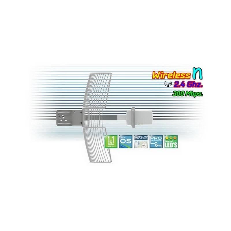 Deliberant APC 2S-20 อุปกรณ์ AccessPoint แบบภายนอกอาคาร กำลังส่งสูงสุด 1300mW ความเร็ว 300Mbps ความถี่ 2.4GHz รองรับ WNMS