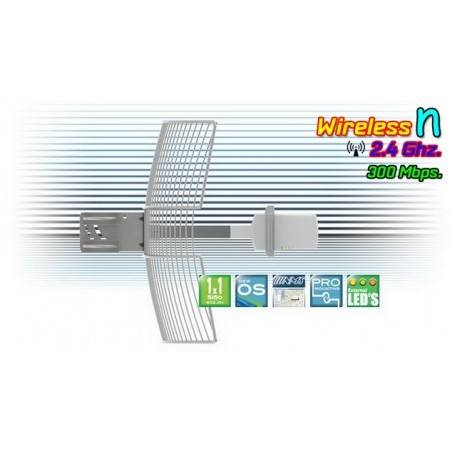 Deliberant APC 2S-20 อุปกรณ์ AccessPoint แบบภายนอกอาคาร กำลังส่งสูงสุด 1300mW ความเร็ว 150Mbps ความถี่ 2.4GHz รองรับ WNMS