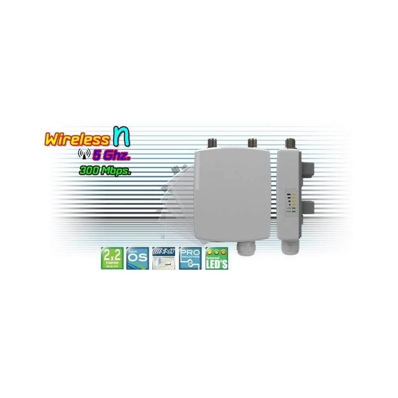 Deliberant (เดลิเบอแร้นท์) Deliberant APC 5M อุปกรณ์ AccessPoint แบบภายนอกอาคาร กำลังส่งสูงสุด 1000mW ความเร็ว 300Mbps ความถี...