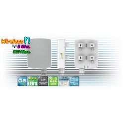 Deliberant (เดลิเบอแร้นท์) Deliberant APC 5M-12 อุปกรณ์ AccessPoint แบบภายนอกอาคาร กำลังส่งสูงสุด 800mW ความเร็ว 300Mbps ความ...