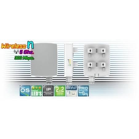 Deliberant APC 5M-12 อุปกรณ์ AccessPoint แบบภายนอกอาคาร กำลังส่งสูงสุด 800mW ความเร็ว 300Mbps ความถี่ 5GHz รองรับ WNMS