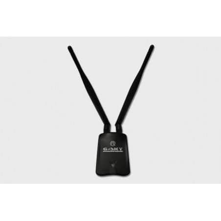 GSky Link GS-28USB-50 N300 ตัวรับสัญญาณ USB WIFI แบบ Hi-Power 2000mW ความเร็วสูง 300Mbps พร้อมเสา Omni 5dBi