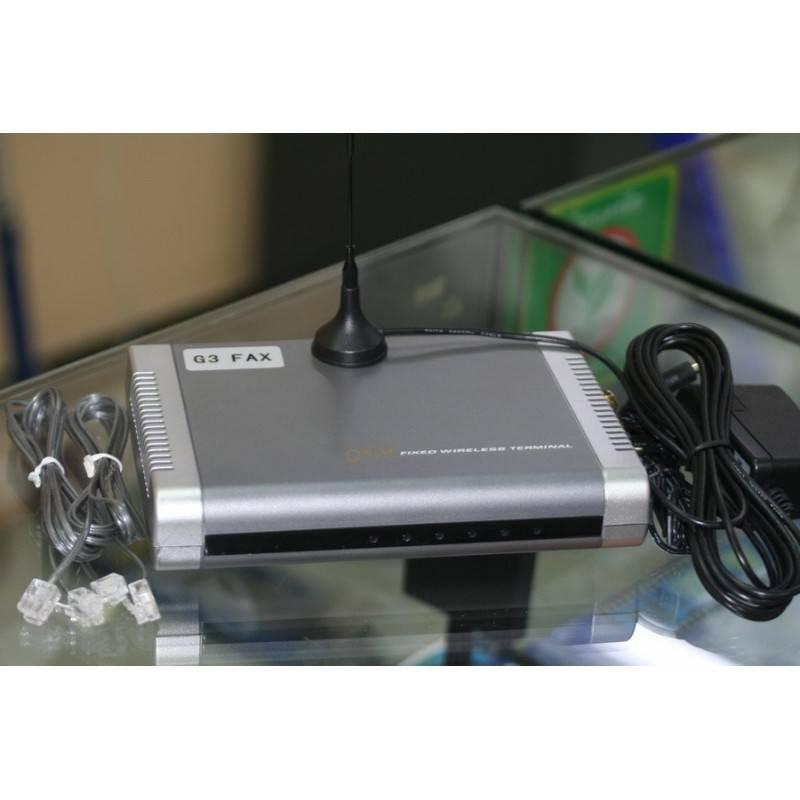 G3-Fax GSM Fixed Terminal อุปกรณ์รับ-ส่ง Fax ผ่านเครือข่ายโทรศัพท์มือถือ รองรับ True/DTAC รองรับตู้สาขา PABX