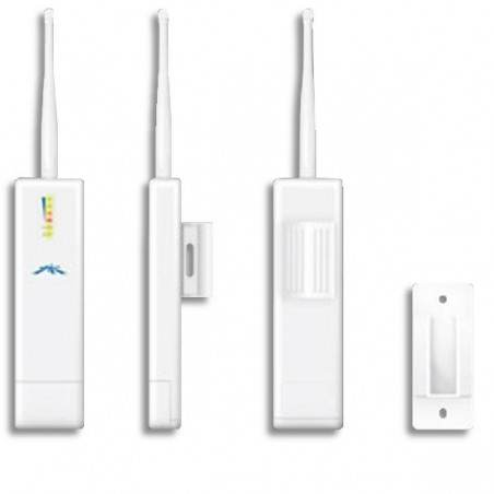 Ubiquiti PicoStation2 Wireless A/P แบบ Outdoor ความถี่ 2.4 GHz ความเร็ว 54Mbps กำลังส่ง 100mW