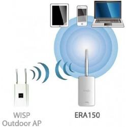 EnGenius Engenius ERA-150 Outdoor Wireless AccessPoint รองรับ Repeater ความถี่ 2.4GHz ความเร็ว 150 Mbps กำลังส่ง 500 mW