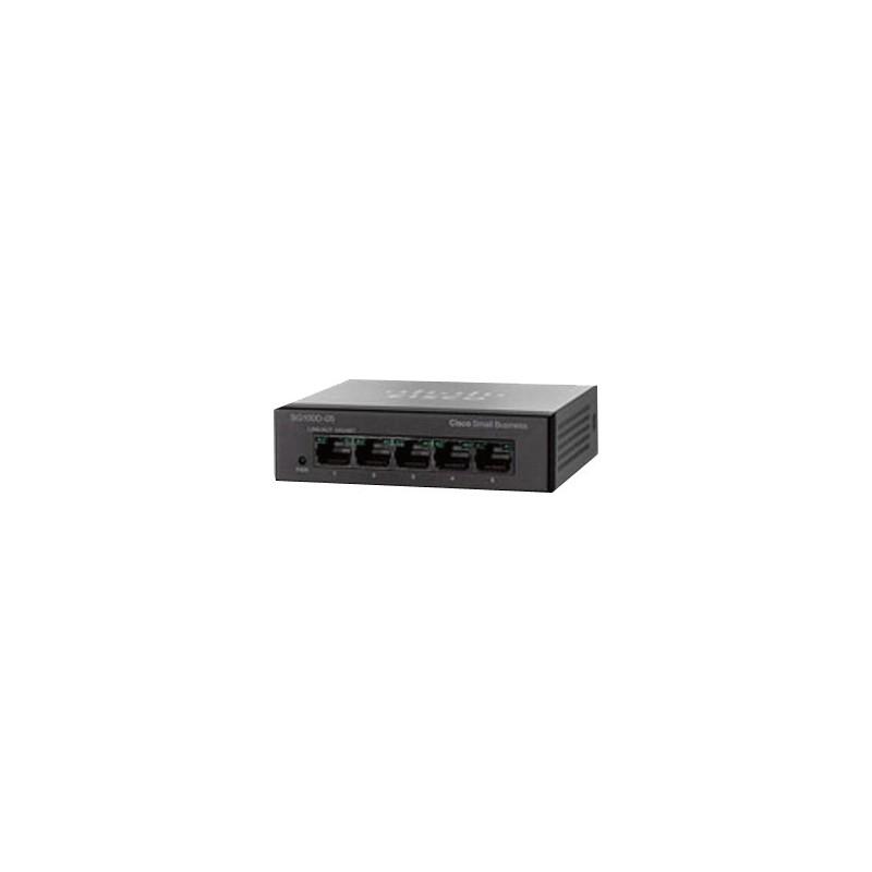 Cisco SG90D-05 Desktop Gigabit Switch 5 Port ความเร็ว 10/100/1000 Mbps Switches เชื่อมเครือข่ายแบบสาย