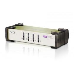 KVMP Switch Aten CS84U ขนาด 4Port พร้อม สาย 4 เส้น รองรับทั้ง PS/2 และ USB KVM Switch