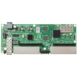 MikroTIK Mikrotik RouterBoard RB2011UAS-2HnD-IN Ram 128MB ROS Lv.5 Wireless N 300Mbps 2.4GHz 10Port Lan
