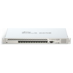 Mikrotik CCR1016-12G Cloud Core Router ระดับ Top CPU 1.2GHz 16 Core Ram 2GB 12 Port Giagbit ROS LV 6 Case อลูมิเนียม