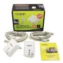EDUP EP-PLC5511 Power Line Adapter เชื่อมเครือข่ายผ่านสายไฟฟ้าในบ้าน ความเร็วสูงสุด 200Mbps